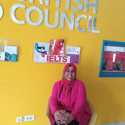 In British council as International School Award ambasador