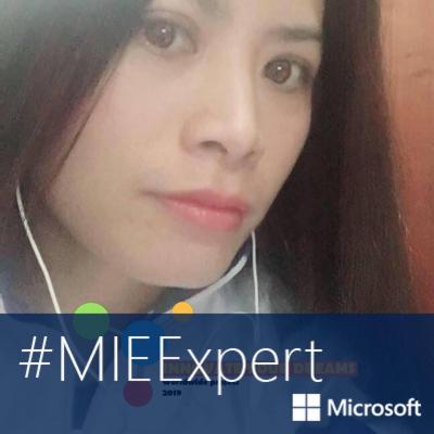 M.A/STEM trainer/Microsoft Innovation Educator Expert To Thi Nhu Quynh