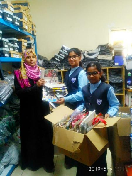 Paper bags to school uniform store